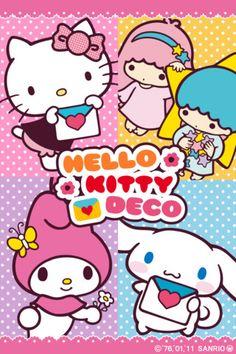Sanrio Hello Kitty, Little Twin Stars, My Melody & Cinnamoroll