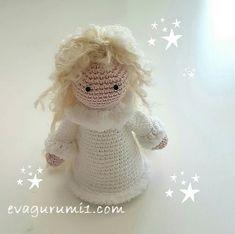 Amigurumi angel crochet free pattern and video tutorial Amigurumi Patterns, Crochet Patterns, Free Crochet, Crochet Hats, Free Angel, Free Pattern, Teddy Bear, Halloween, Blog