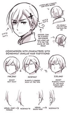 Norway's Hair by ROSEL-D on deviantART