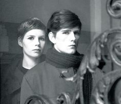Kirchherr and Stuart Sutcliffe, 1961