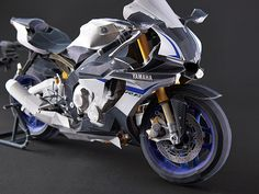 Ultra Realistic Paper Crafts : YZF-R1M | Paper Crafts(Origami) - Entertainment | YAMAHA MOTOR CO., LTD.