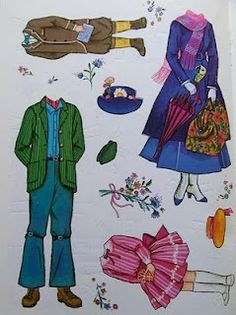 I have one like this - Mary, Jane and Michael. You are never too old for Mary Poppins fun!