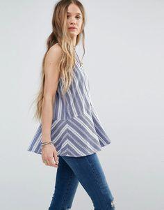 Hollister+High+Neck+Stripe+Tunic