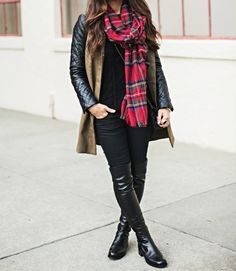 Boots and Scarves…