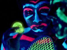 Black light Speedminton to make Vancouver beach glow tonight Badminton Birdie, Badminton Games, Vancouver Beach, Jim James, Beach Glow, Dark Material, Spa Design, Tech House, Fantasy Setting