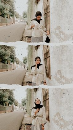 Casual Hijab Outfit, Ootd Hijab, Girl Hijab, Ootd Poses, Best Photo Poses, Hijab Fashion Inspiration, Portrait Poses, Asia Girl, Teenager Outfits