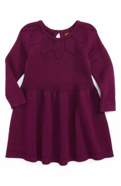 df0f50bcec3 Main Image - Tea Collection Muireall Sweater Dress (Baby Girls) Toddler  Sweater Dress