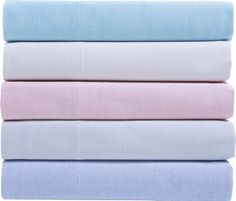 Chambray 200 Thread Count Cotton Sheet Set