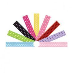 1/4 Inch Oblique 3 Dots Swiss Satin Ribbon for sale just $5 Wholesale Ribbon, Dots, Satin, Stitches, Elastic Satin, Silk Satin