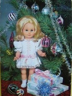 PANENKA Mrkací Mrkačka Vánoce Dárečky RETRO
