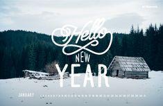 January 2016 free calendar wallpaper – desktop background