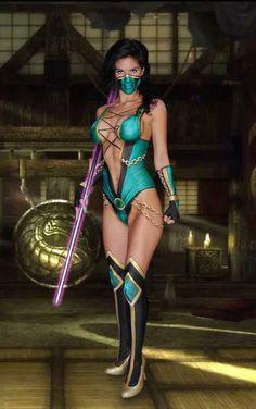 HOT PAINT: Jade (Mortal Kombat) Body Paint