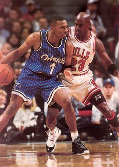 Anfernee Hardaway (Orlando Magic) and Michael Jordan. Two of the greatest  in my eyes the nba don t have the talent it used to and isn t really as  exciting ... a966aeb90
