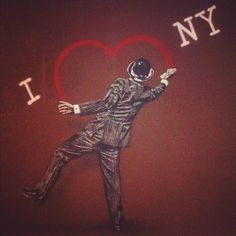 NYC Street Art By Banksy.