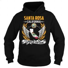 Santa Rosa, California - Its Where My Story Begins - #white shirt #blue hoodie. ORDER NOW => https://www.sunfrog.com/States/Santa-Rosa-California--Its-Where-My-Story-Begins-103240999-Black-Hoodie.html?id=60505