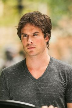 """Ian Somerhalder films """"The Climate Reality Project"""" in Washington Square Park in New York (August 23, 2014)"""