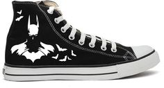 Batman Converse All Star Shoes on Etsy, $90.00