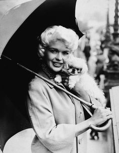 Jayne Mansfield | Community Post: 14 Pictures Of Film Stars Of The Middle 20th Century With Animals