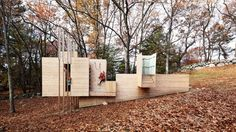 Stimulating young minds and bodies by providing hours upon hours of imaginative play is the sole purpose of the Five Fields Play Structure which was built by Matter Design Studio in the Five Fields Neighborhood Common Land in Lexington, MA.