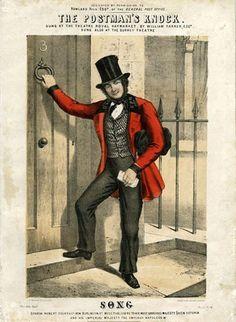 Postman's Knock song sheet, c.1860