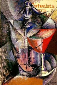 """♥️ """"Glass and Syphon"""" 1913 Umberto Boccioni,One of the principal figures of the Futurism art movement Italian Painters, Italian Artist, Umberto Boccioni, Italian Futurism, Futurism Art, Art Gallery, Still Life Art, Canvas Art Prints, Les Oeuvres"""