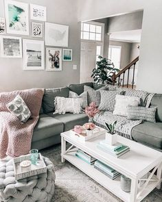 Best 45 Best Blush And Grey Living Room Images In 2018 Home 640 x 480