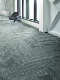 Zip It Tile 12BY36, Lees Commercial Modular Carpet | Mohawk Group
