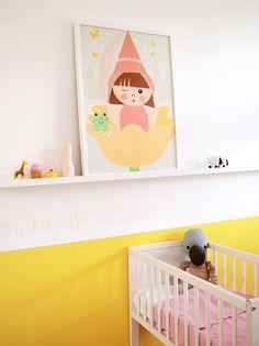 Poster Fee voor kinder- of babykamer | © Papiergoed