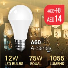 Combination of versatility and efficiency is what makes A-line #VTAC #LED bulbs such winners.