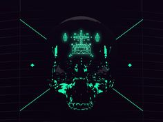 Death in motion. Goverdose v2.0 by Mateusz Sypien, via Behance