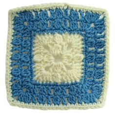 Seven Inch Bobble Square - A free Crochet pattern from Julie A Bolduc.