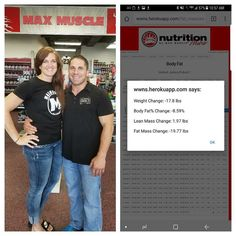 Abbey decided to make her fitness a priority! Down almost 20 pounds of fat and up almost 2 pounds of lean mass she has dropped nearly 9% bodyfat! Along with her nutrition plan her favorite products are; Max ARM for recovery TriTOR pre workout and Maxpro Elite PB Chocolate. Great work Abbey! #maxmusclemetro #maxmuscleomaha #maxmuscle #health #nutrition #weightlosstransformation #weightlossjourney #food #supplements https://www.instagram.com/p/BX-479jlGZq/ via https://www.maxmuscleomaha.com