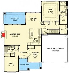 Flexible Cottage With Up To 3 Bedrooms - 19609JF | Architectural Designs - House Plans