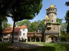 Landsberg am Lech * Herkomerhaus mit Mutterturm