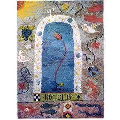 Tree of Life, tapestry by Kirsten Glasbrook