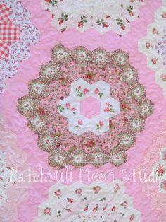 Grandmother's Flower Garden Quilt