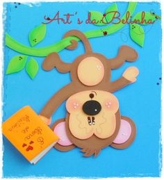 Image in Admin's images album Foam Crafts, Diy And Crafts, Crafts For Kids, Cute Drawlings, Carnival Crafts, Mickey E Minie, Carpeaux, Safari Decorations, Decorate Notebook
