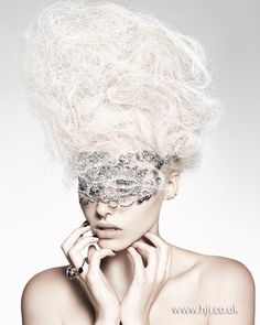 Hooker & Young 2012 British Hairdresser of the Year Finalist Bal A Versailles, Pelo Editorial, Lange Blonde, Avantgarde, Avant Garde Hair, Look At My, Rococo Fashion, Creative Hairstyles, About Hair