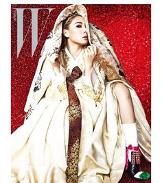 CL goes for a traditional look in 'W Korea' | allkpop.com