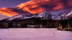 Strbske pleso lake  High Tatras, #Slovakia