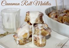 Cinnamon Roll Middles!