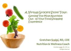 Click here to take a tour through the virtual grocery store http://gretchenscalpi.com/virtual-grocery-store-tour/  $5.99