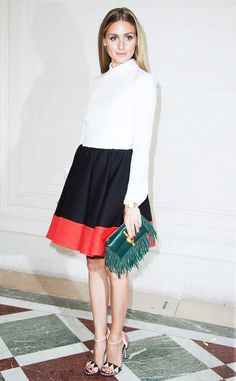 Perfection head to toe....The Olivia Palermo Guide to Accessorizing Like a Pro