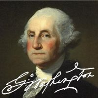 american presidents font flag
