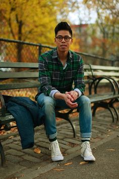 OUTFIT: Men's Flannel Shirts Falling For Flannel... | Closet Freaks | Menswear & Personal Style