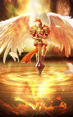 Kayle - League of Legends Lol League Of Legends, League Of Legends Characters, World Of Warcraft Gold, League Of Angels, Lol Champions, Angel Warrior, Forgotten Realms, Fantasy Art Women, Wings Of Fire