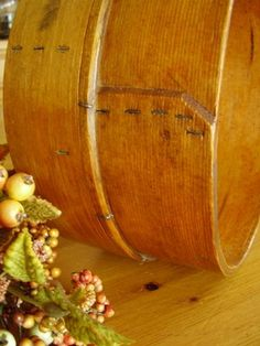 Antique Golden Oak Sifter Bentwood Small Wooden Sieve Strainer