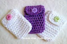 Tecendo Artes em Crochet: Capinhas p/ Pendrives - Encomenda Concluída!