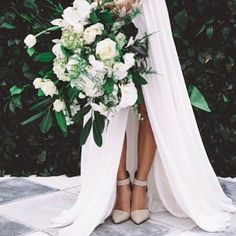 "Bride Australia on Instagram: ""Those shoes, that bouquet, that dress Photo  via @kwhbridal"""