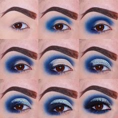 Again sorry guys for not having any new looks to post there will be new ones coming as of tomorrow but for now heres a throw back to my blue glittery cutcrease of how I did my Glitter cutcrease (Please tag ) Products used Eye Makeup Designs, Eye Makeup Art, Sexy Makeup, Pretty Makeup, Makeup Geek, Eyeshadow Makeup, Makeup Inspo, Makeup Tips, Makeup Tutorials